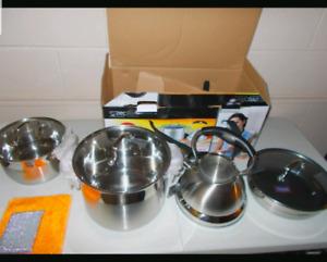 Zepter cookware brand new. 9 pcs