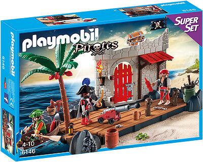 Playmobil 6146 SuperSet Piratenfestung NEU OVP