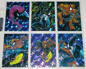 1992 Spider-Man McFarlane Era Marvel Card SET Missing P5+ # 90.