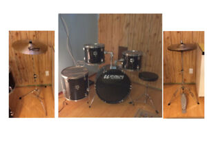 "Westbury Drum Set, Solar Cymbal Set – 14″ Hi-Hats 18"" Crash/"
