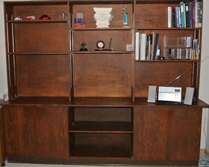 Large Solid Cabinet'Bookcase