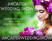 ANCASTER WEDDING SHOW AT NIGHT and THE PROM FAIR MARCH 31st 4-9p