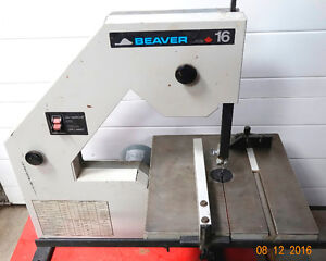 16 Inch Band Saw--Beaver Delta-- All Cast Steel Frame