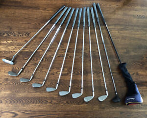 11 piece right handed - EXTENDED - golf club set