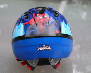 REDUCED PRICE: Spiderman bike and helmet - reconditioned London Ontario image 3