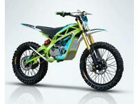 TIME ET X12000 ELECTRIC DIRT BIKE MX MOTOCROSS SURRON KTM RM SX CR YZ KX 125 250