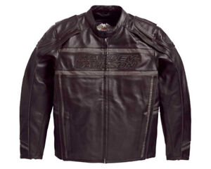 Men's XL Harley Davidson leather riding Jacket - Peace River, Ab