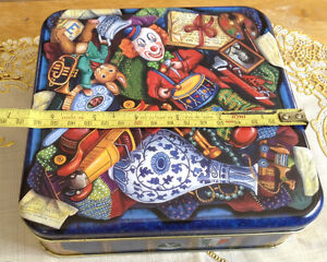 "VTG 1994 TOY TRUNK COLLECTIBLE TIN ""THE SILVER CRANE COMPANT"" Gatineau Ottawa / Gatineau Area image 9"