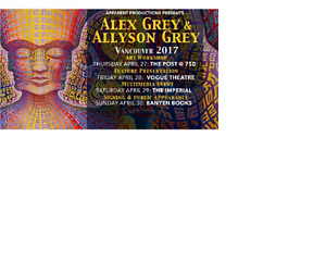 Feature Presentation: The Visionary Art of Alex and Allyson Grey