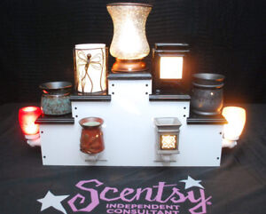 Homemade display stand (used for scentsy)
