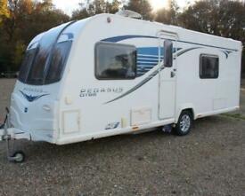 Bailey Pegasus GT65 Verona OVS 2013 4 Berth Fixed Bed Caravan + Motor Movers
