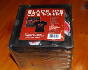 Black Ice CD & T-Shirt Crate