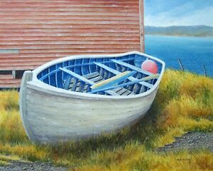 ONE on ONE PAINTING LESSONS - painting with acrylic St. John's Newfoundland image 1