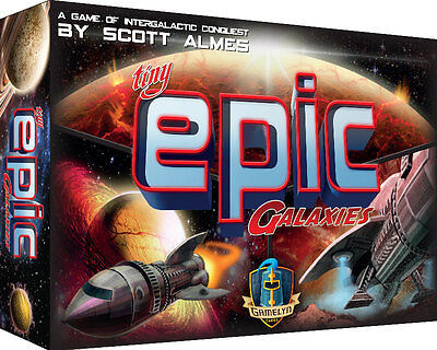 Tiny Epic Galaxies Micro Board Game Gamelyn Games GG501 Mini Galaxy Card Card Game Board Games