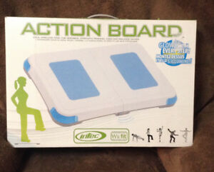 Intec Action Board Balance Board  for Wii Fit- BRAND NEW