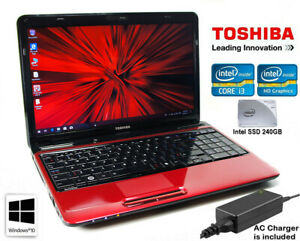 15.6'' Toshiba L655 / Intel i3 2.27GHz/ 4GB DDR3 / SSD 240GB