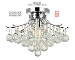 All Crystal Ceiling Fixtures On Sale!