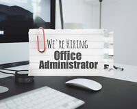 Office Administrator / Receptionist / Book Keeper