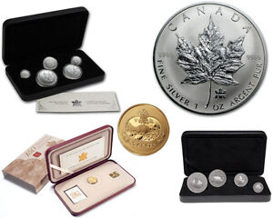 4 Silver Coin Sets for $275