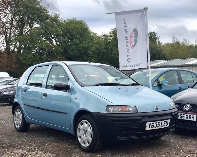 2001 fiat punto 1 2 5dr in leicester leicestershire gumtree. Black Bedroom Furniture Sets. Home Design Ideas