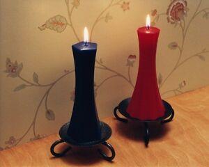Chandelles de Sculpture  /  Wax Sculpture Candles pt. 1