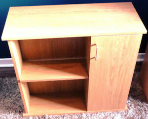 Small Bookcase with storage