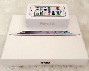iPhone 5s & IPad 4 Packaging