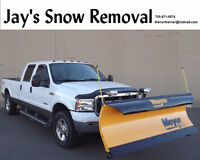 Winter Snow Removal $20 small Driveway $40 large Driveway