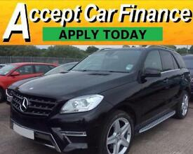Mercedes-Benz ML250 FROM £119 PER WEEK!