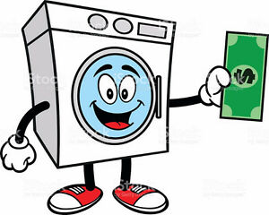 We pay you for your old Washers and Dryers