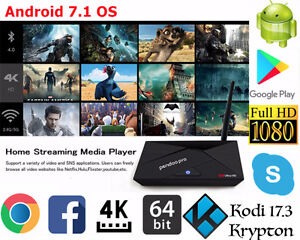 Newest Android TV Boxes - Kodi 17.3 - Fully Programmed