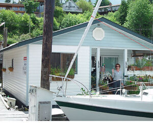 Floating 2 Bedroom Home in Cowichan Bay, BC