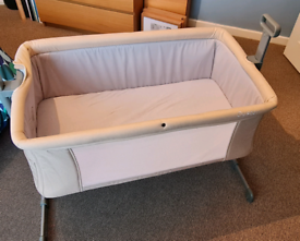 Oyster Snuggle Bed bedside sleeper (Made to be raised at one end)