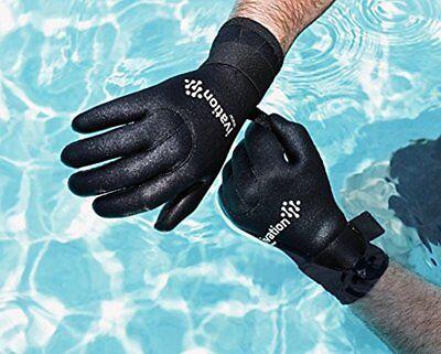 Wetsuit Gloves - 3mm Diving Gloves Premium Neoprene Five Finger Snorkel Swimming