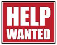 GENERAL HELP WANTED!! $10/Hr