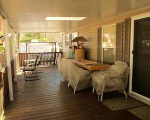 12' x 39' Northlander Cottager Escape with large covered Deck Belleville Belleville Area image 2