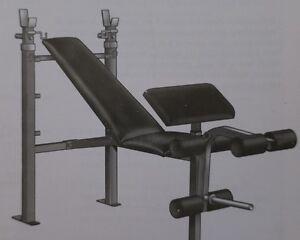 Banc de musculation - Weider Training