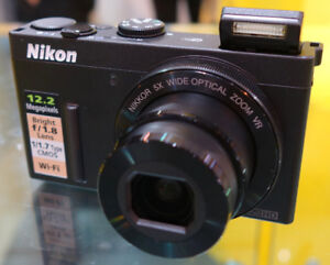 Nikon P340 (12MP, F1.8, 120mm and built in WiFi)
