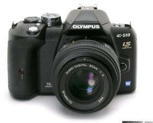 Olympus E510 digital camera
