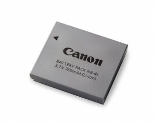 Canon Battery and Charger Models NB-4L and CB-2LV OEM