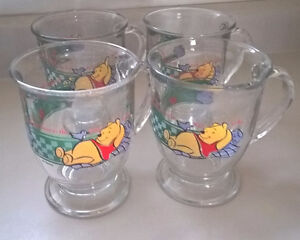 Disney Winnie The Pooh Mug ANCHOR HOCKING Mugs