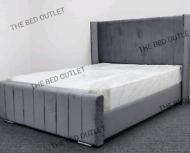 🌈BRAND NEW PLUSH WING BACK BEDS ON SALE. ALL SIZES VIEWINGS WELCOME