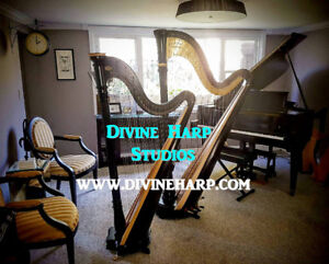 Music Lessons HARP PIANO Classes All ages Fall Registration Open