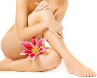 Waxing-Afforable Hair Removal!
