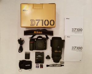 Nikon D7100 et lentille AF-S NIKKOR 17-55 mm 1:2.8 G ED