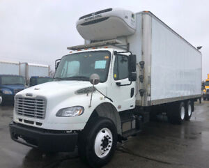 2011 Freightliner M2 Refeer Tandem Axle 26 Feet 230 Refeer Hours