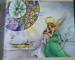 Dreamscapes: Magical Angel, Faery & Mermaid Worlds In Watercolor Kitchener / Waterloo Kitchener Area image 6
