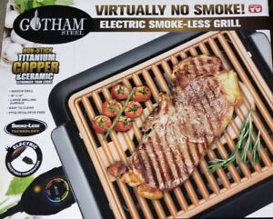 Gotham Indoor Electric Grill/ Barbecue
