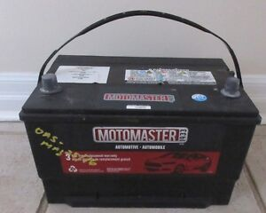 Car battery, checked last week by Canadian tire.