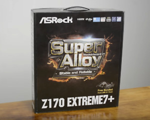 AsRock Z170 Extreme 7 + Many more components